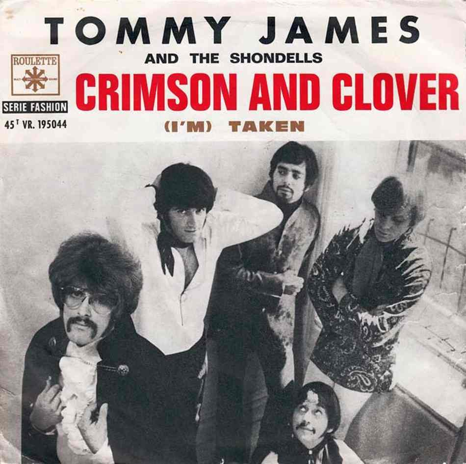 Tommy James and the Shondells - Crimson and Clover, portada del disco