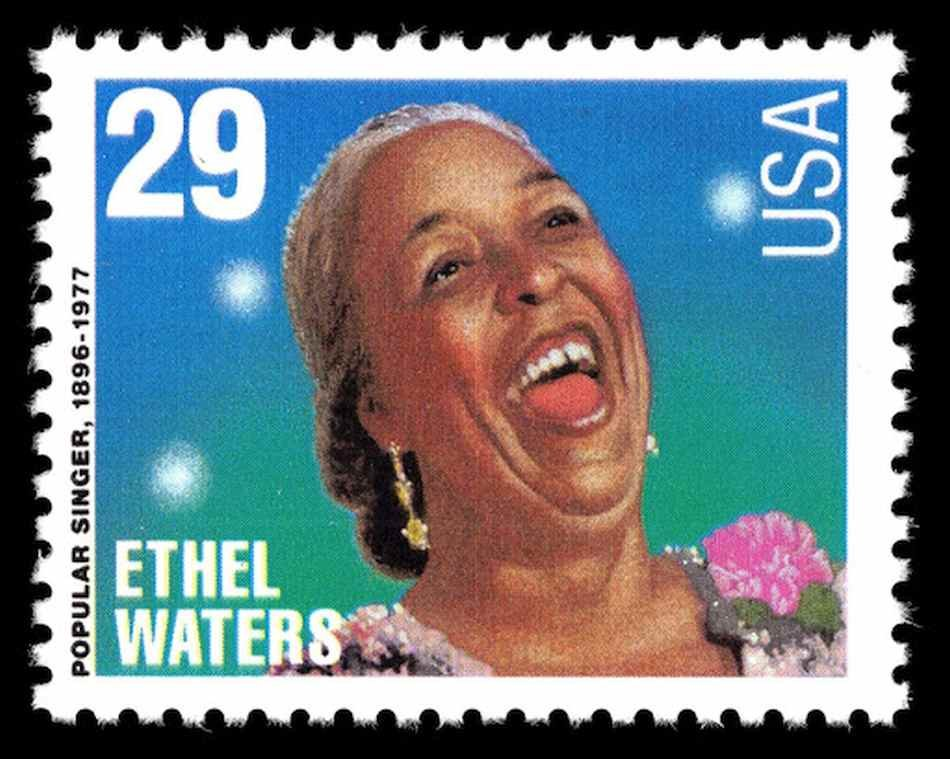 Ethel Waters, timbre postal