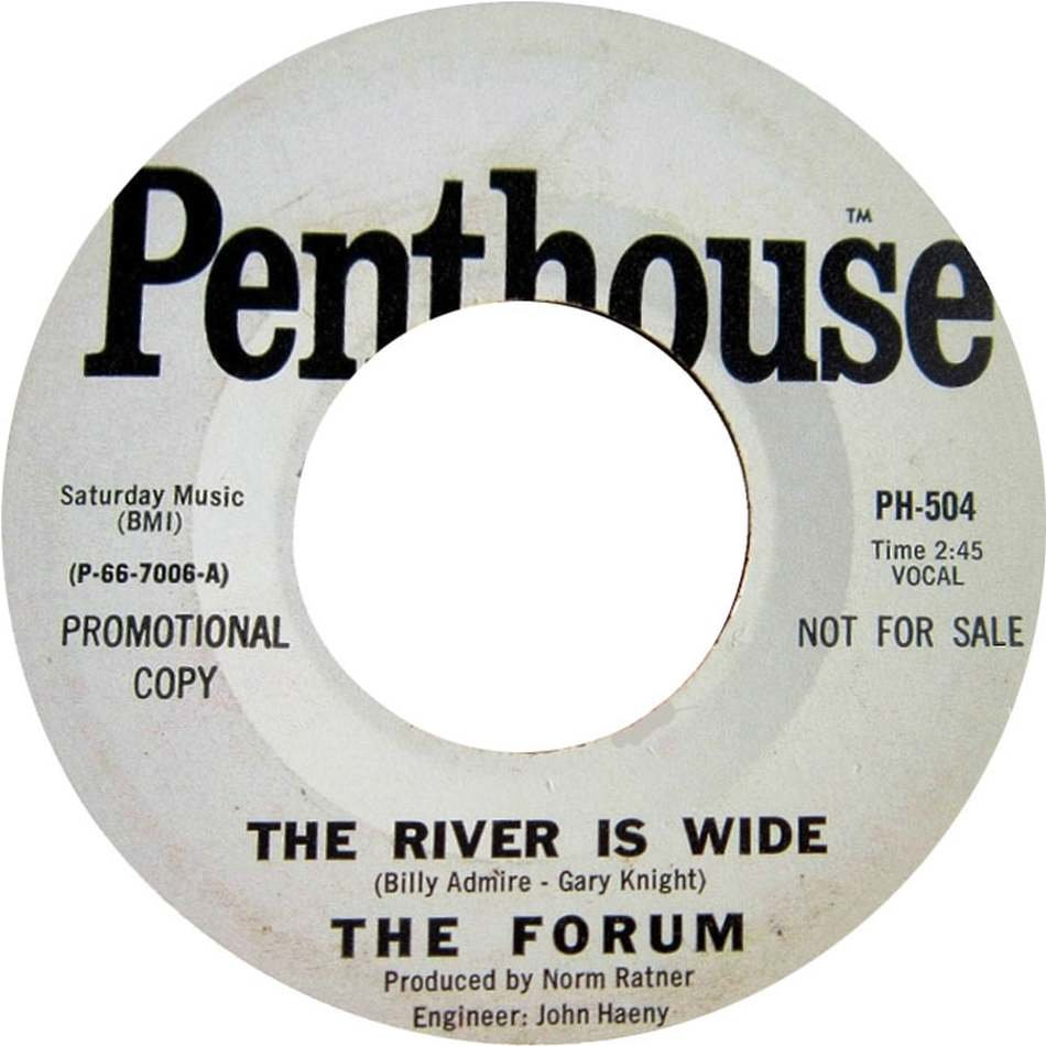 The Forum, The River is Wide, 1967